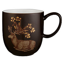 Buy Avendia Puddin' Head Deer Mug, Brown Online at johnlewis.com