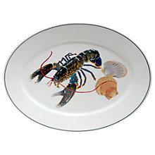 Buy Jersey Pottery Seaflower Lobster Platter, Large Online at johnlewis.com