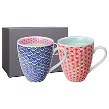 Buy Tokyo Design Studio Coloured Mugs, Set of 2 Online at johnlewis.com