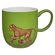 Buy Avenida Home Puddin' Head Monkey Mug, Green Online at johnlewis.com