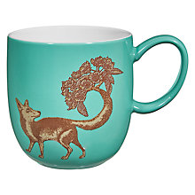 Buy Avendia Puddin' Head Fox Mug, Teal Online at johnlewis.com