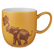 Buy Avendia Puddin' Head Elephant Mug, Yellow Online at johnlewis.com