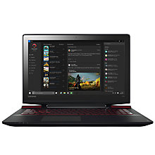 "Buy Lenovo Ideapad Y700 Gaming Laptop, Intel Core i7, 16GB RAM, 1TB HDD + 128GB SSD, 15.6"" Ultra HD (4K), Black Online at johnlewis.com"