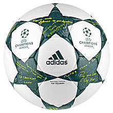 Buy Adidas UCL Finale 16 Training Ball, Size 5, Multi Online at johnlewis.com