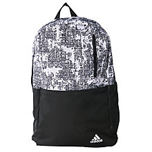 Buy Adidas Versatile Graphic Backpack, Multi Online at johnlewis.com