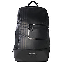 Buy Adidas Climacool Backpack, Black/Matte Silver Online at johnlewis.com
