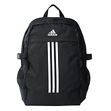 Buy Adidas Power 3 Backpack, Black Online at johnlewis.com
