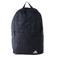 Buy Adidas Versatile Graphic Backpack, Black Online at johnlewis.com