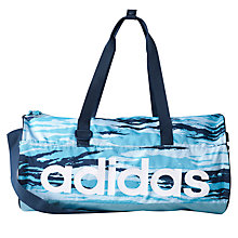 Buy Adidas Training Blue Bag, Small Online at johnlewis.com