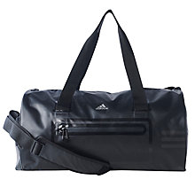 Buy Adidas Climacool Team Bag, Black, Small Online at johnlewis.com