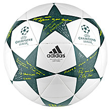 Buy Adidas UCL Finale 16 Capitano Ball, Size 5, Multi Online at johnlewis.com