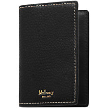 Buy Mulberry Leather Card Case Online at johnlewis.com