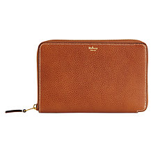 Buy Mulberry Zip Travel Wallet, Oak Online at johnlewis.com