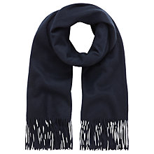 Buy Mulberry Cashmere Scarf, Navy Online at johnlewis.com