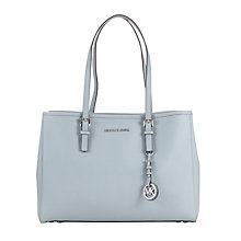 Buy MICHAEL Michael Kors Jet Set Travel Large Leather Tote Bag Online at johnlewis.com