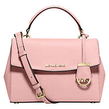 Buy MICHAEL Michael Kors Ava Small Leather Satchel Online at johnlewis.com