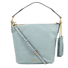 Buy MICHAEL Michael Kors Elana Large Leather Shoulder Bag Online at johnlewis.com