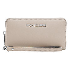 Buy MICHAEL Michael Kors Jet Set Travel Leather Multi-Function Purse Online at johnlewis.com