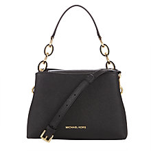 Buy MICHAEL Michael Kors Portia Leather Small East / West Shoulder Bag Online at johnlewis.com