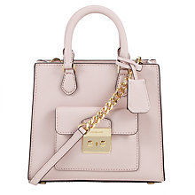 Buy MICHAEL Michael Kors Bridgette Leather Small North / South Messenger Bag Online at johnlewis.com