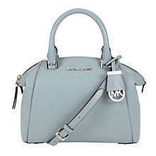 Buy MICHAEL Michael Kors Riley Small Leather Satchel Online at johnlewis.com