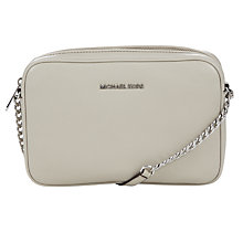 Buy MICHAEL Michael Kors Bedford Large Leather Across Body Bag Online at johnlewis.com