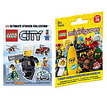 Buy LEGO City Ultimate Sticker Collection with Minifigures Online at johnlewis.com