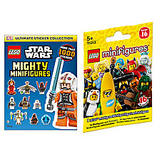 Buy LEGO Star Wars Mighty Minifigures Sticker Collection with Minifigure Online at johnlewis.com