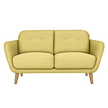Buy House by John Lewis Arlo Small Sofa, Light Leg, Riley New Fennel Online at johnlewis.com