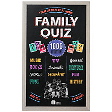 Buy Talking Tables Family Quiz Game Online at johnlewis.com
