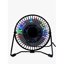 Buy RED5 Own Message Desk Fan Online at johnlewis.com