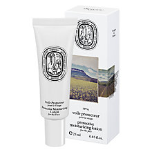Buy Diptyque Protective Moisturising Face Lotion, 25ml Online at johnlewis.com