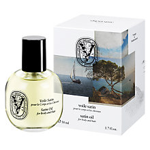 Buy Diptyque Satin Oil For Body & Hair, 50ml Online at johnlewis.com