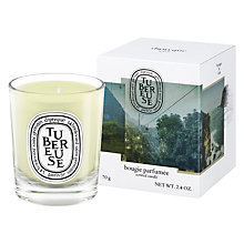 Buy Diptyque Tubereuse Scented Mini Candle, 70g Online at johnlewis.com