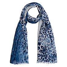 Buy Gerard Darel Cas Scarf, Blue Online at johnlewis.com