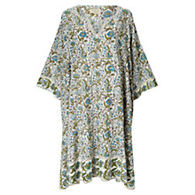 Buy East Paravani Print Tunic Dress, Stone/Multi Online at johnlewis.com