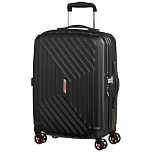 Buy American Tourister Air Force 1 4-Spinner 55cm, Black Online at johnlewis.com