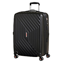 Buy American Tourister Air Force 1 4-Spinner 66cm Suitcase, Black Online at johnlewis.com