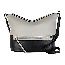 Buy Radley Great Eastern Street Small Across Body Bag, Grey Online at johnlewis.com