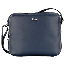 Buy Tula Nappa Originals Medium Organiser Across Body Bag, Navy Online at johnlewis.com