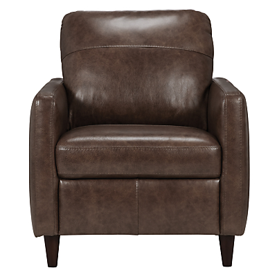John Lewis Dalston Leather Armchair