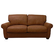 Buy John Lewis Hampstead Large Leather Sofa Online at johnlewis.com