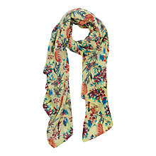 Buy Oasis Palm House Tropical Print Scarf, Multi Online at johnlewis.com