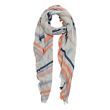 Buy Oasis Ile De Rae Stripe Scarf, Multi Online at johnlewis.com
