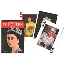 Buy Milly Green The Queen Playing Cards Online at johnlewis.com