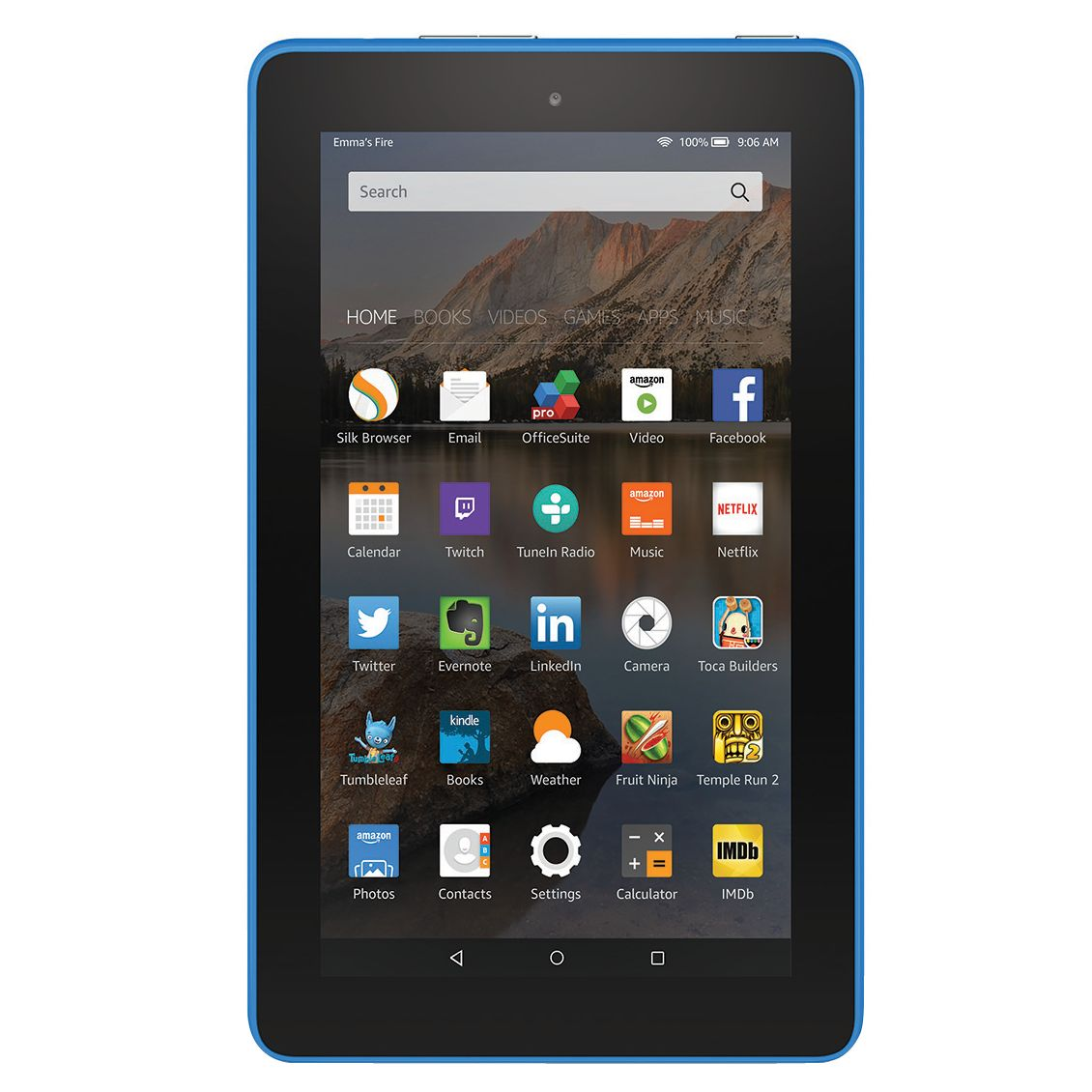 Amazon New Amazon Fire 7 Tablet, Quad-core, Fire OS, 7, Wi-Fi, 16GB