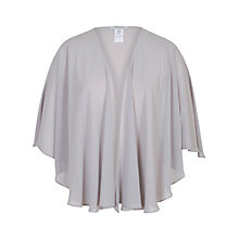Buy Chesca Chiffon Shawl, Silver Grey Online at johnlewis.com