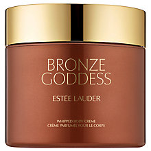 Buy Estée Lauder Bronze Goddess Whipped Body Creme, 200ml Online at johnlewis.com
