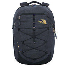 Buy The North Face Borealis Backpack, Black/Gold Online at johnlewis.com