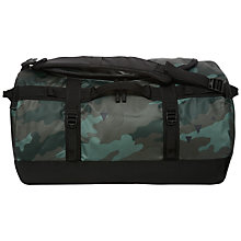 Buy The North Face Base Camp Duffle Bag, Small, Camouflage Online at johnlewis.com
